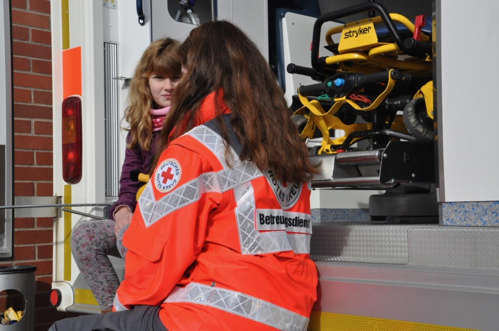 Katastrophenschutz SEG Betreuung