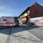Corona Schnellteststation in Amberg