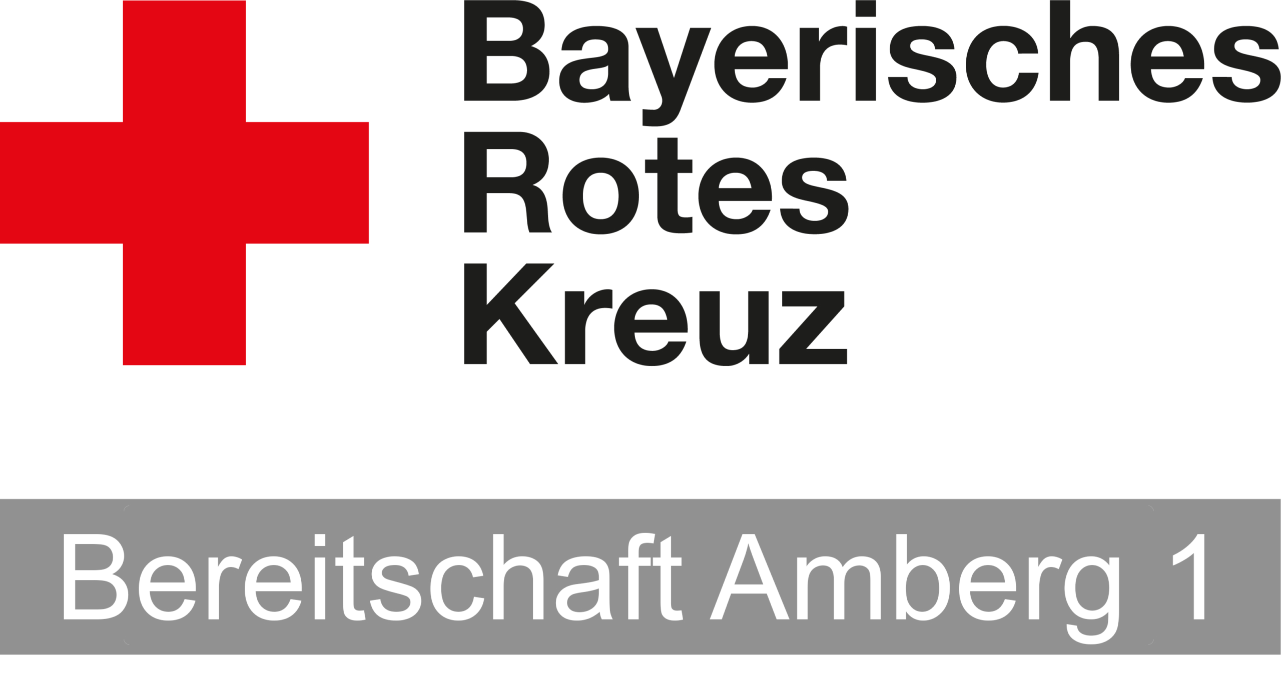 BRK Bereitschaft Amberg 1 Logo