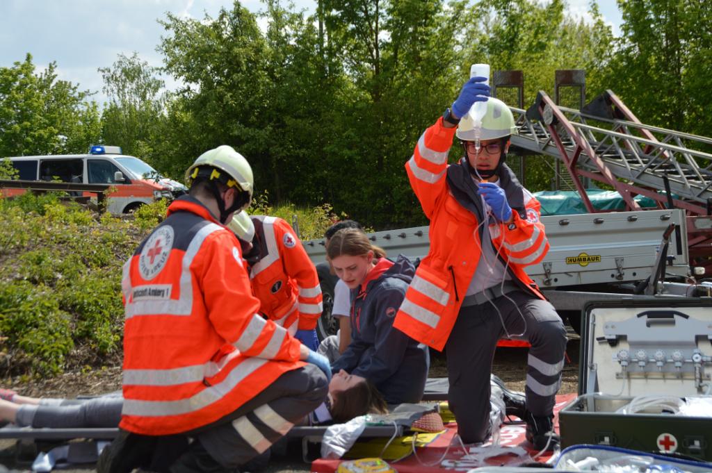 Katastrophenschutz SEG Übung